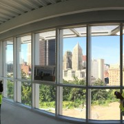 Panoramic View from the Entry Event Room