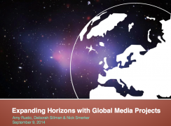 Expanding Horizons - slide deck collaboratively developed during Summer 2014 for presentation to NK faculty
