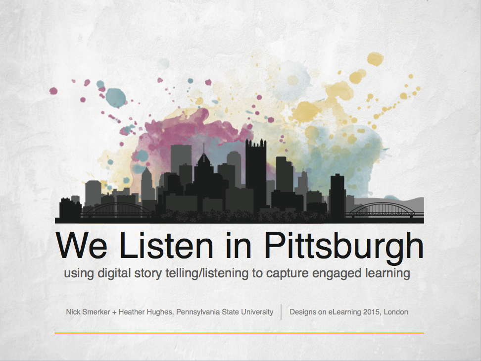 We Listen in Pittsburgh