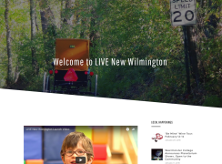 Live New Wilmington Homepage